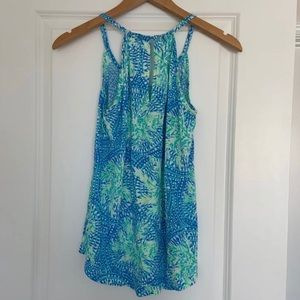 Lilly Pulitzer Xs lacy top